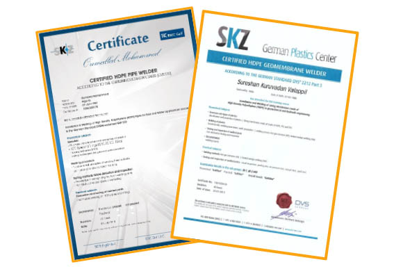 DVS AND DVGW Certificate